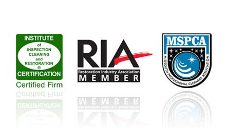 Certification and qualification logos