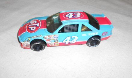 race car after
