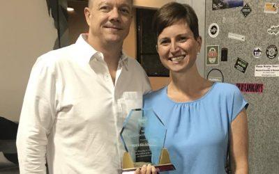 Katie Smith Receives Industry Award