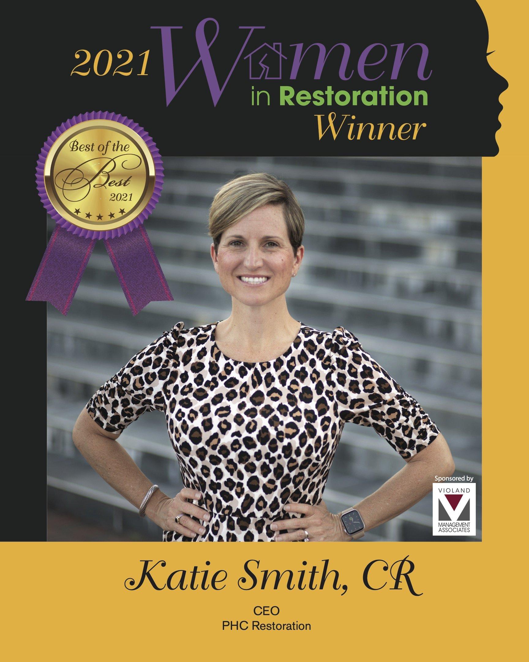 Katie Smith Women in Restoration